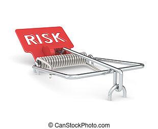 rischio, management.