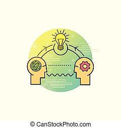 risolvere problema, vettore, affari