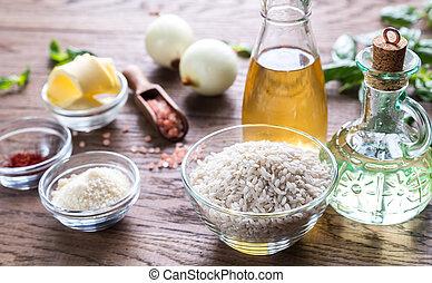 risotto, ingredienti