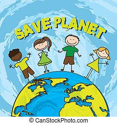 risparmiare, pianeta