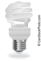 risparmio, bulbo, energia, luce