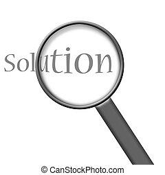 risultato, soluzione
