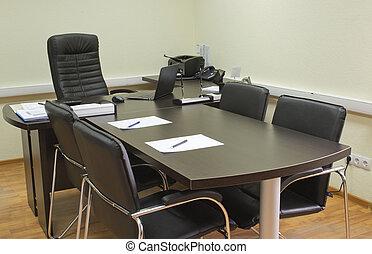 riunione ufficio, pronto, direttore