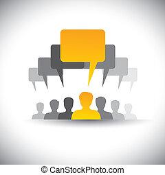 riunioni, questo, ditta, astratto, personale, &, graphic., riunione, sociale, condottiero, persone, unione, asse, vettore, impiegato, grafico, studente, voce, icone, direzione, -, media, ecc, rappresenta, anche, o, comunicazione