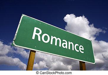 romanza, segno strada