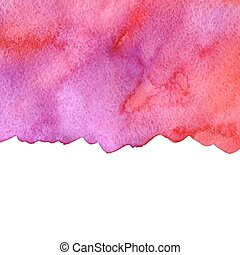 rosa, acquarello, vettore, fondo