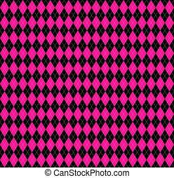 rosa, argyle, plaid, colori, plastica