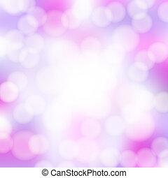 rosa, astratto, bokeh, fondo