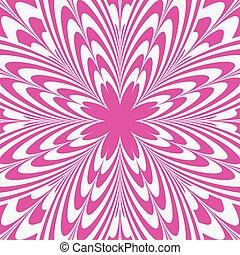 rosa, astratto, fiore, illusione, fondo