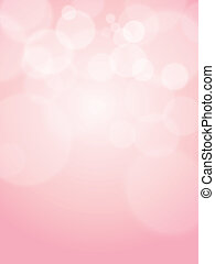 rosa, astratto, fuoco, bokeh, vettore, fondo, morbido