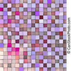 rosa, differente, viola, tonalità, fondale, 3d