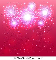 rosa, firework