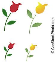 rosa, illustrazione