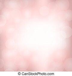 rosa, luce, fondo, sfocato