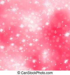rosa, romantico, astratto, eps, stars., 8