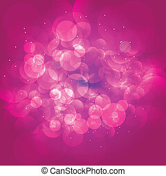 rosa, vettore, romantico