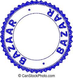 rosetta, bazar, textured, sigillo, francobollo, rotondo, grunge