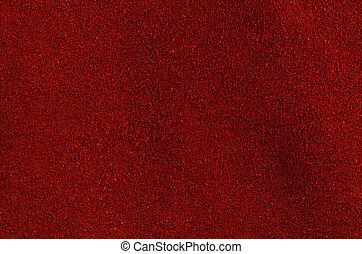 rosso, cuoio