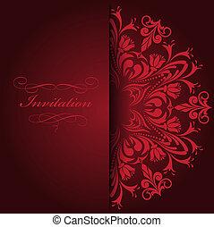 rosso, invito