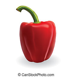 rosso, paprica