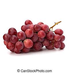rosso, perfetto, mazzo, uva