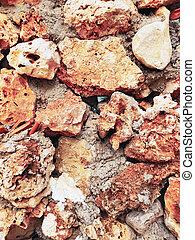 rosso, struttura, granito, fondo, pietra, ocra, astratto, bianco, grunge, colori, multicolor