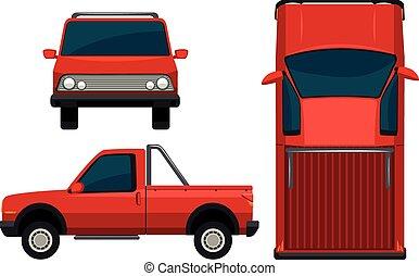 rosso, veicolo