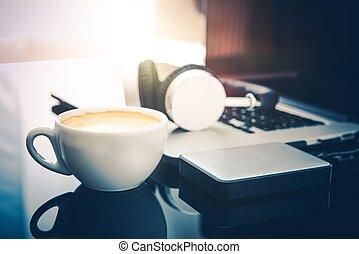 rottura, freelancer, caffè