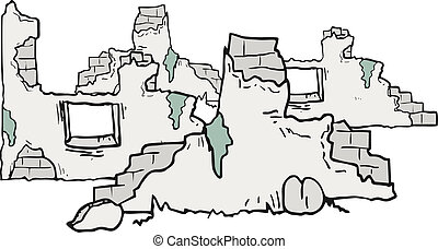 rovine, cartone animato