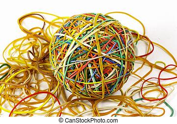 rubberband, 2, palla