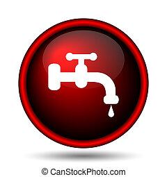 rubinetto dell'acqua, icona