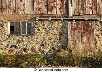 rurale, fondo, textured