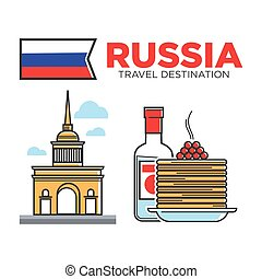 russo, simboli, viaggiare