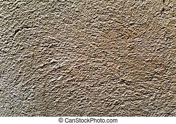 rustico, marrone, intonacato, parete