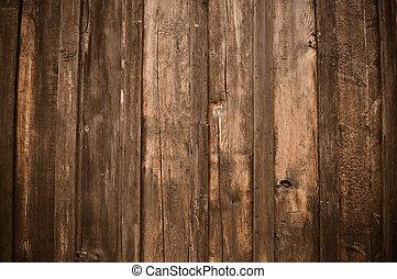 rustico, scuro, legno, fondo