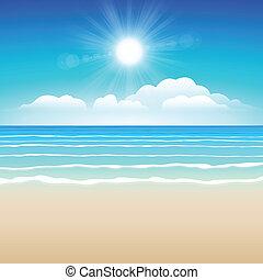 sabbia, cielo, mare
