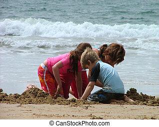 sabbia, gioco