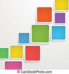sagoma, colorare, testo, astratto, boxes., fondo