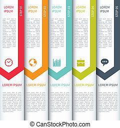 sagoma, infographics, moderno, minimalistic, multicolour