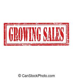 sales-stamp, crescente
