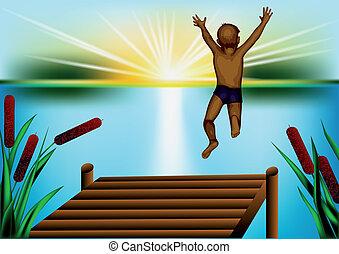 salto, acqua