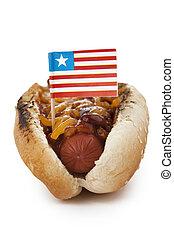 sandwich formaggio cotto ferri, hotdog