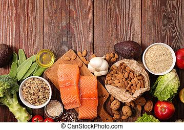 sano, composizione, cibo