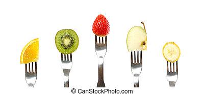 sano, frutta, organico