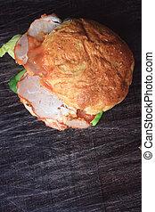 saporito, hamburger