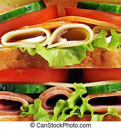saporito, panino, fresco