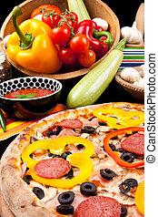 saporito, pizza