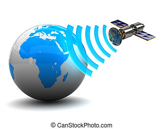 satellite, radiodiffusione