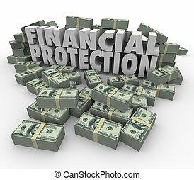 savin, soldi, finanziario, sicuro, investimento, protezione, conto, assicurare