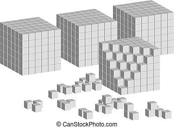 scala, cubo